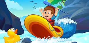 Rafting Adventure - Gamezop