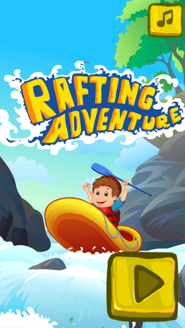 Play Rafting adventure