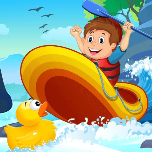 Rafting AdventureHTML5 Game - Gamezop