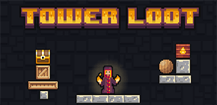 Tower LootHTML5 Game - Gamezop