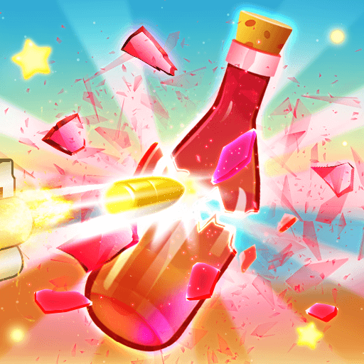 Bottle ShootHTML5 Game - Gamezop