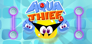 Dive into hours of fun as you help Aqua Thief in his quest to capture the underwater treasure!