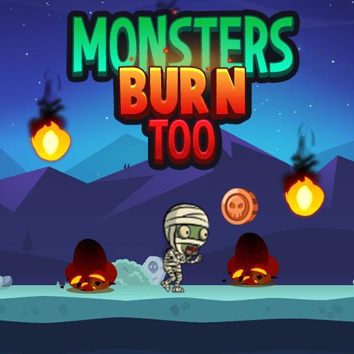 Monsters Burn TooHTML5 Game - Gamezop