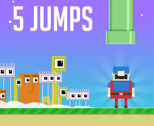 5 jumps