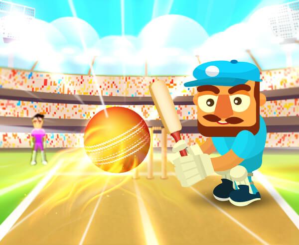 板球Gunda-板球Gunda-Cricket Gunda-你有3個小門和觀眾留下深刻的印象!去吧!盡可能多地進行跑步。小心炸彈和雞蛋?!