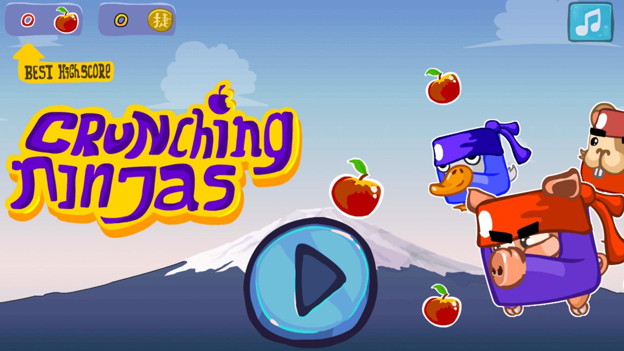 Play Crunching ninjas