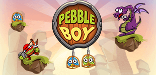 Pebble BoyHTML5 Game - Gamezop