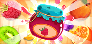 Juicy, tasty, match-3 madness. Prove your skills and match as many fruits as possible.