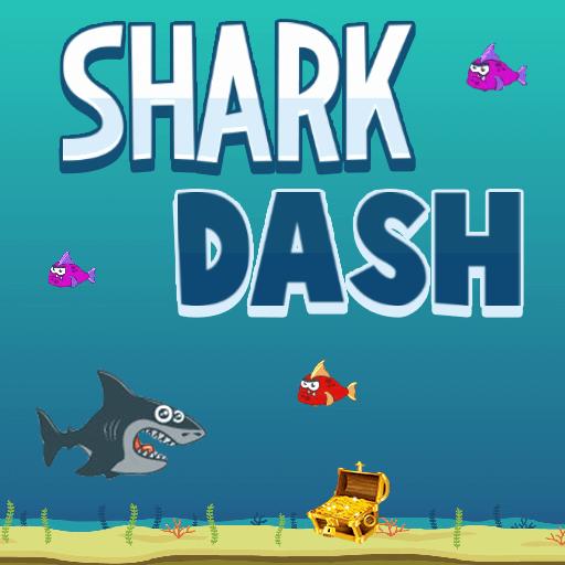 Shark DashHTML5 Game - Gamezop
