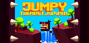 Dodge all the random spikes that get in your way to become the best jumper known to early men!