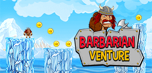 Barbarian VentureHTML5 Game - Gamezop