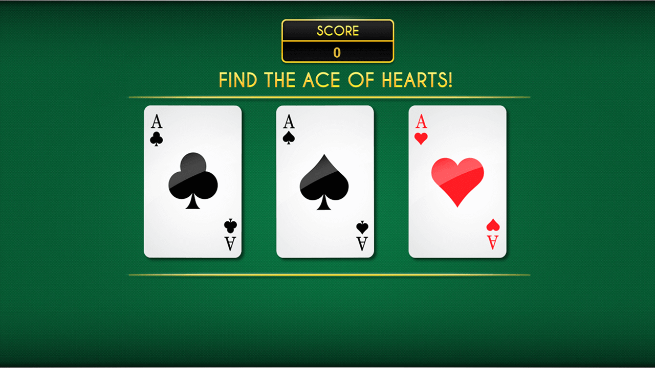 Play Where's the ace?