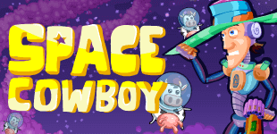 This cowboy from Texas has been thrown into space. Good luck helping him gather the cattle!
