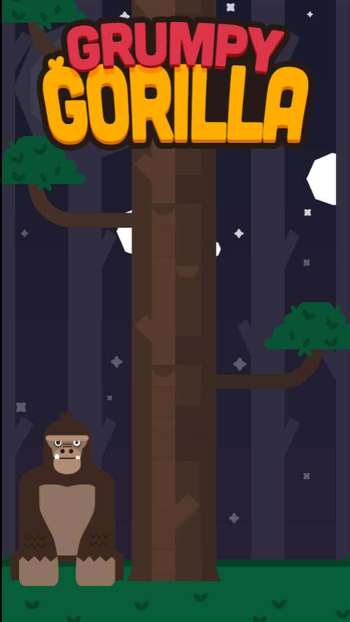 Play Grumpy gorilla