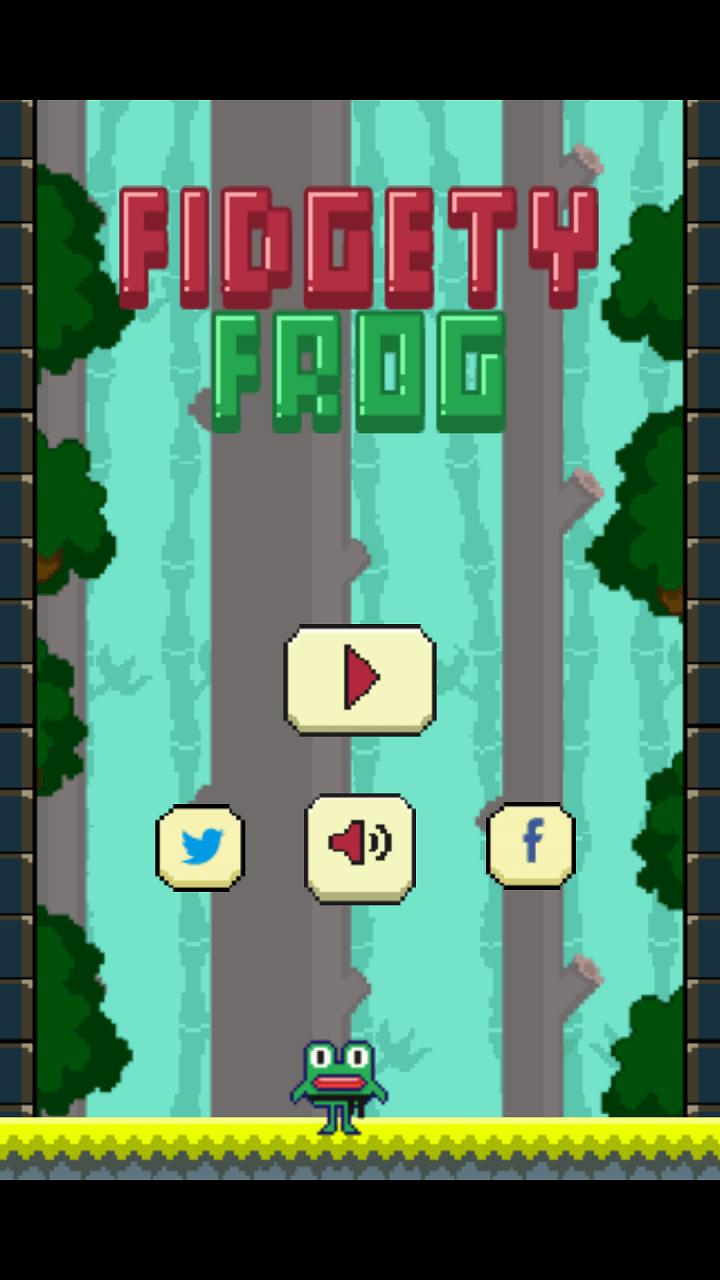 Play Fidgety frog