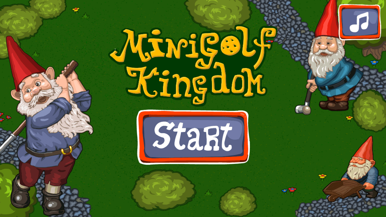 Play Minigolf kingdom