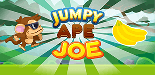 Jumpy Ape JoeHTML5 Game - Gamezop