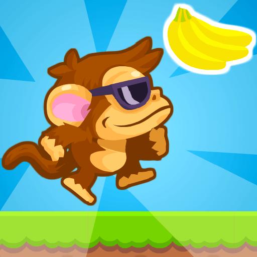 Jumpy Ape JoeHTML5 Game - Gamezop