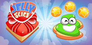 Slice the Jelly so that each slice contains only one star! Get 3 stars for maximum rewards.