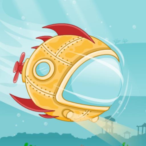 Submarine DashHTML5 Game - Gamezop