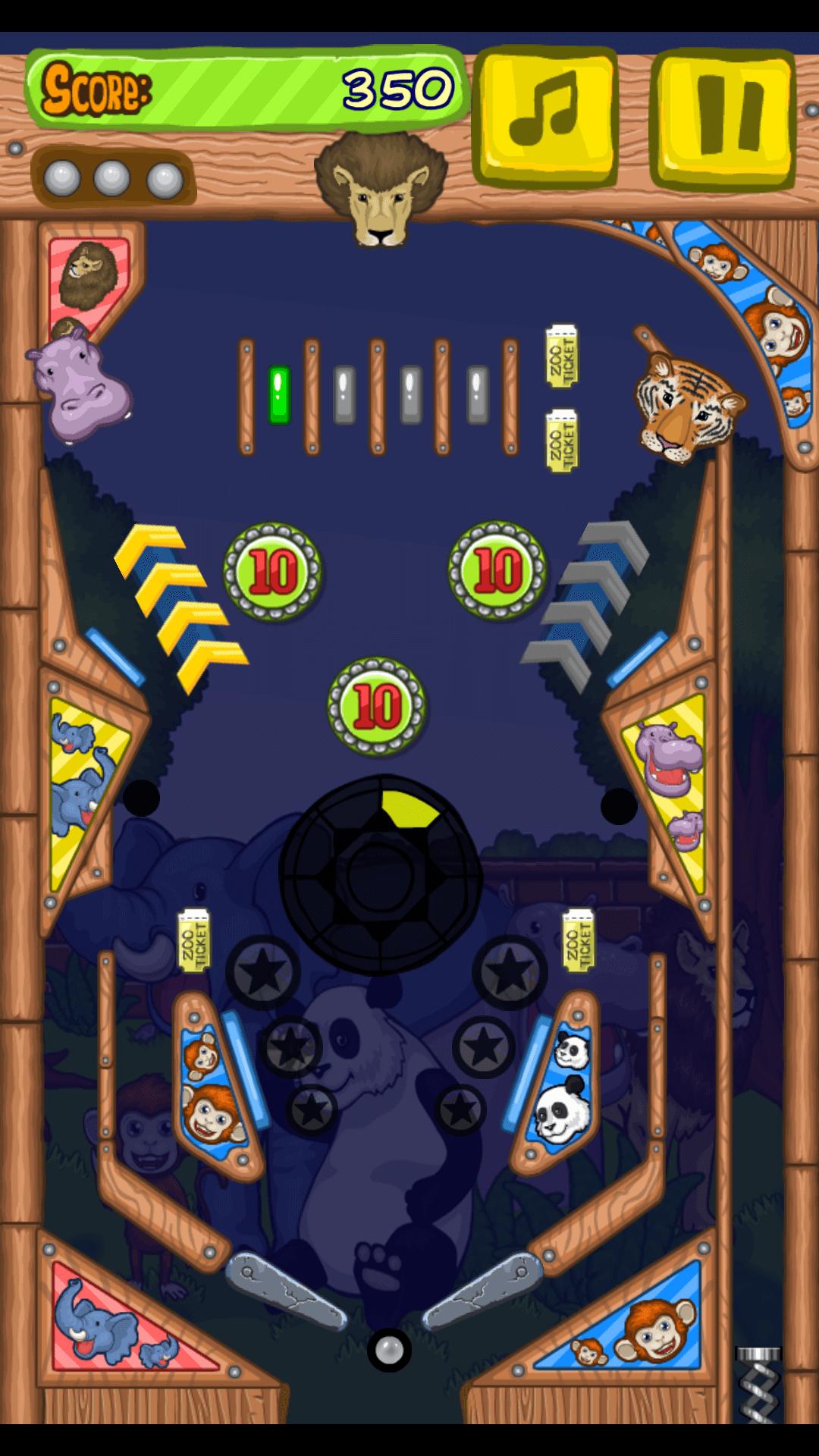 Play Zoo pinball