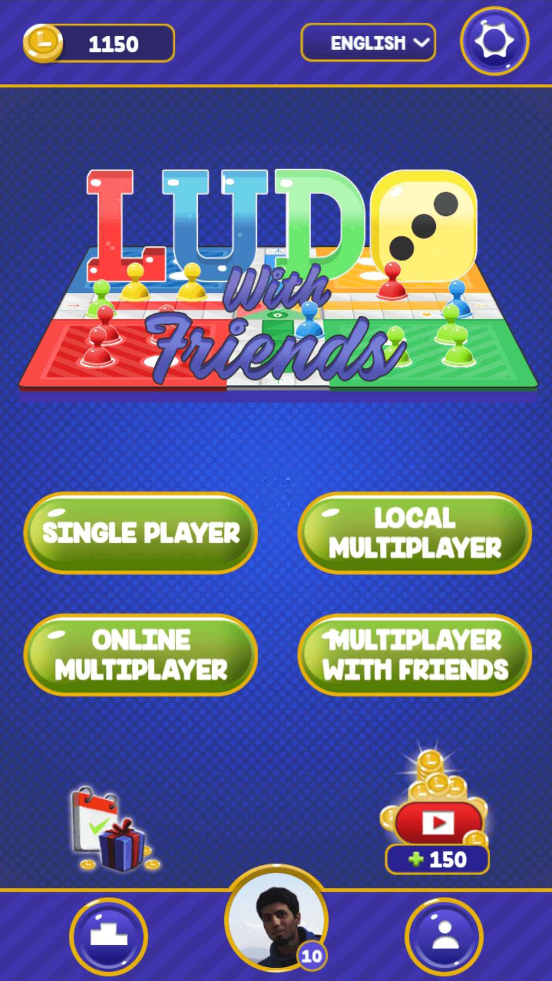 Play Ludo with friends