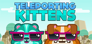 Teleporting KittensHTML5 Game - Gamezop