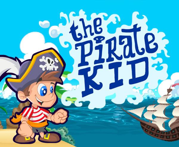 海盜小子-海盗小子-Pirate Kid-在風景優美的環境中捕捉海盜的跳躍時間,被螃蟹和拾荒者所困擾。