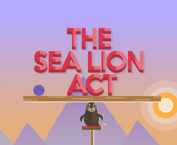 the sea lion act