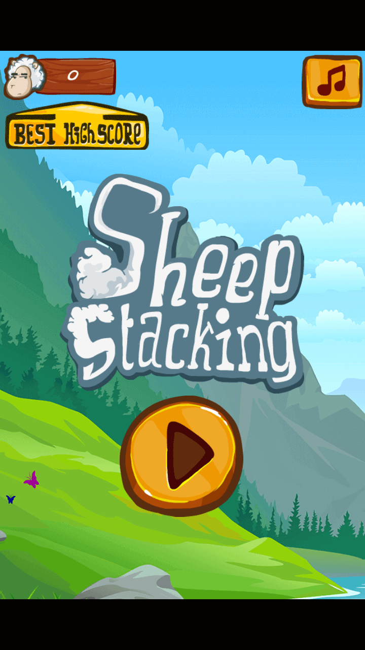 Play Sheep stacking