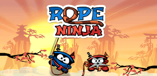 Rope NinjaHTML5 Game - Gamezop