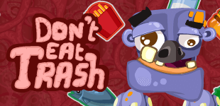 Don't Eat TrashHTML5 Game - Gamezop