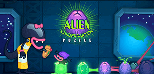 Puzzle game in which you play an alien mom hatching slimy, oozing eggs across several levels.