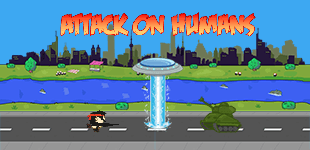 Attack on HumansHTML5 Game - Gamezop