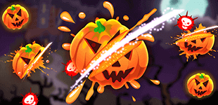 Your object is simple: tap on flying pumpkins to smash them up into pieces but avoid bombs.