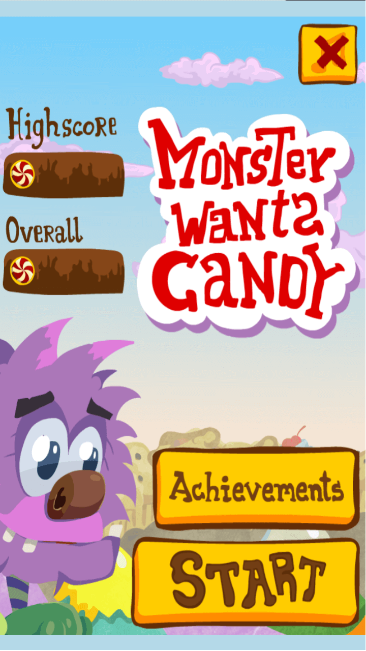 Play Monster wants candy