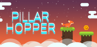 Pillar HopperHTML5 Game - Gamezop
