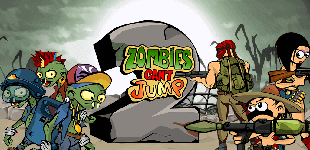 Zombies Can't Jump 2HTML5 Game - Gamezop