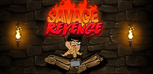 Help the savage run away from the castle dungeon! But be careful of the many lurking dangers!